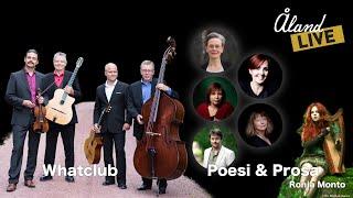 ÅlandLIVE - Poesi och Prosa med Ronja Monto & Whatclub
