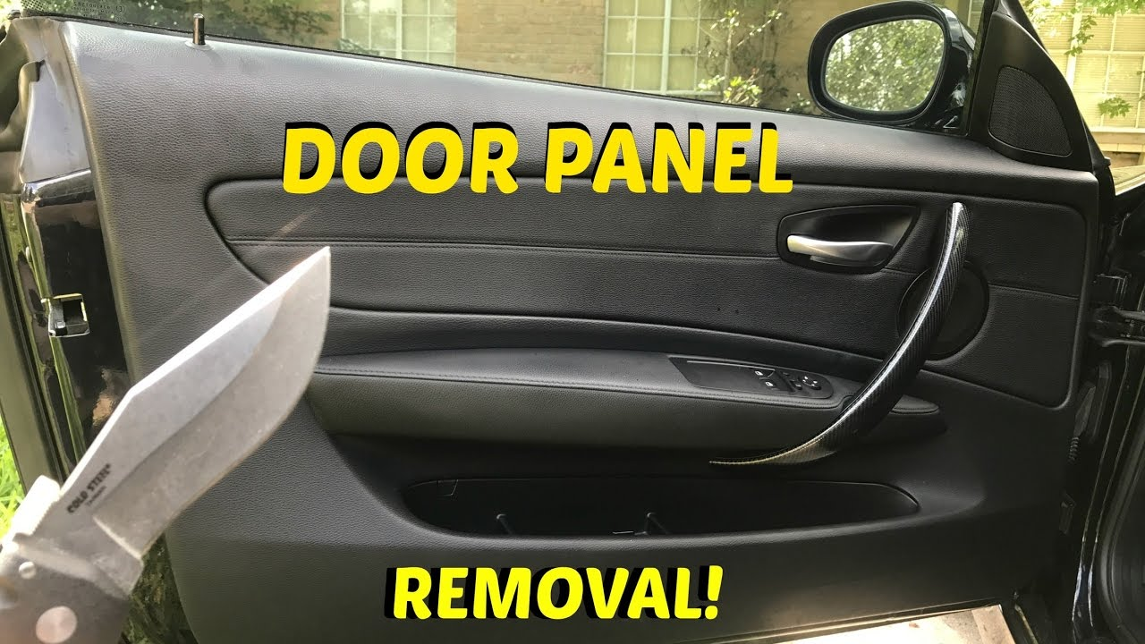 Bmw 135i Door Panel Removal Youtube