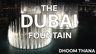 The Dubai Fountain: Dhoom Thana - Shot/Edited with 5 HD Cameras - 4 of 9 (HIGH QUALITY!)(Abhijeet's