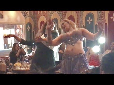 Belly dancer Liz Leyla - Moustafa Hagag - Ya mna3na3 -  يا منعنع