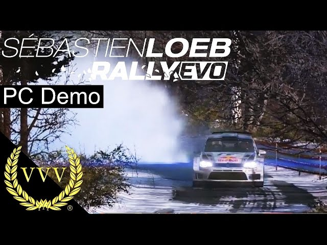 Sebastien Loeb Rally Evo PC Demo 60fps'ish