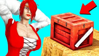 You Won't BELIEVE What She FOUND In This BOX! (Ark Survival Evolved)