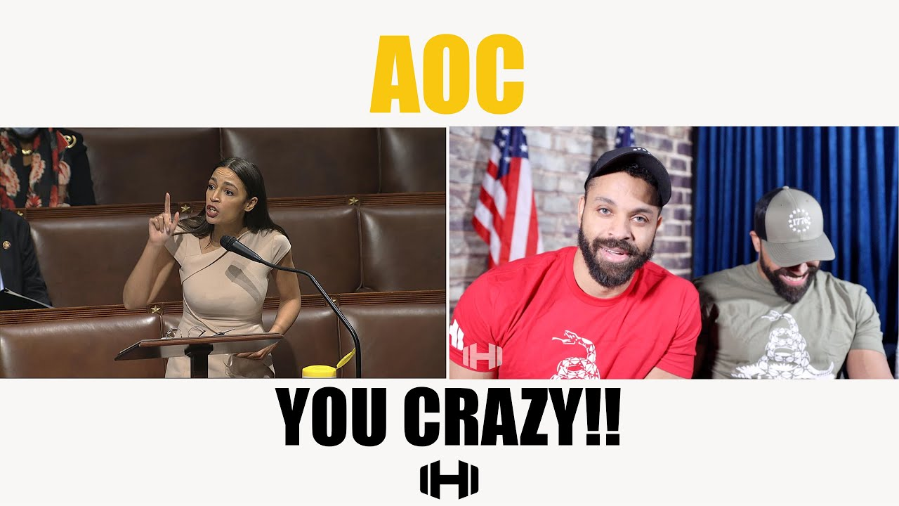 AOC YOU CRAZY!