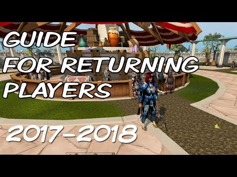 Runescape 3 Guide For Returning Players - Play Runescape 2017/2018