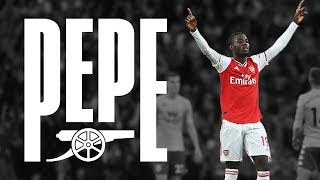 COMPILATION | Best of Pepe | Arsenal 3-2 Aston Villa | Highlights