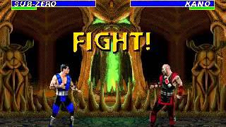 Mortal Kombat 3 - Sub-Zero (Sega Genesis) (By Sting)