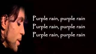 Watch Prince Purple Rain video