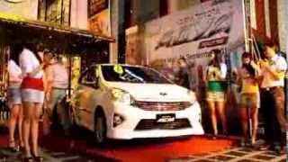 Launching Astra Toyota Agya di Kota Malang
