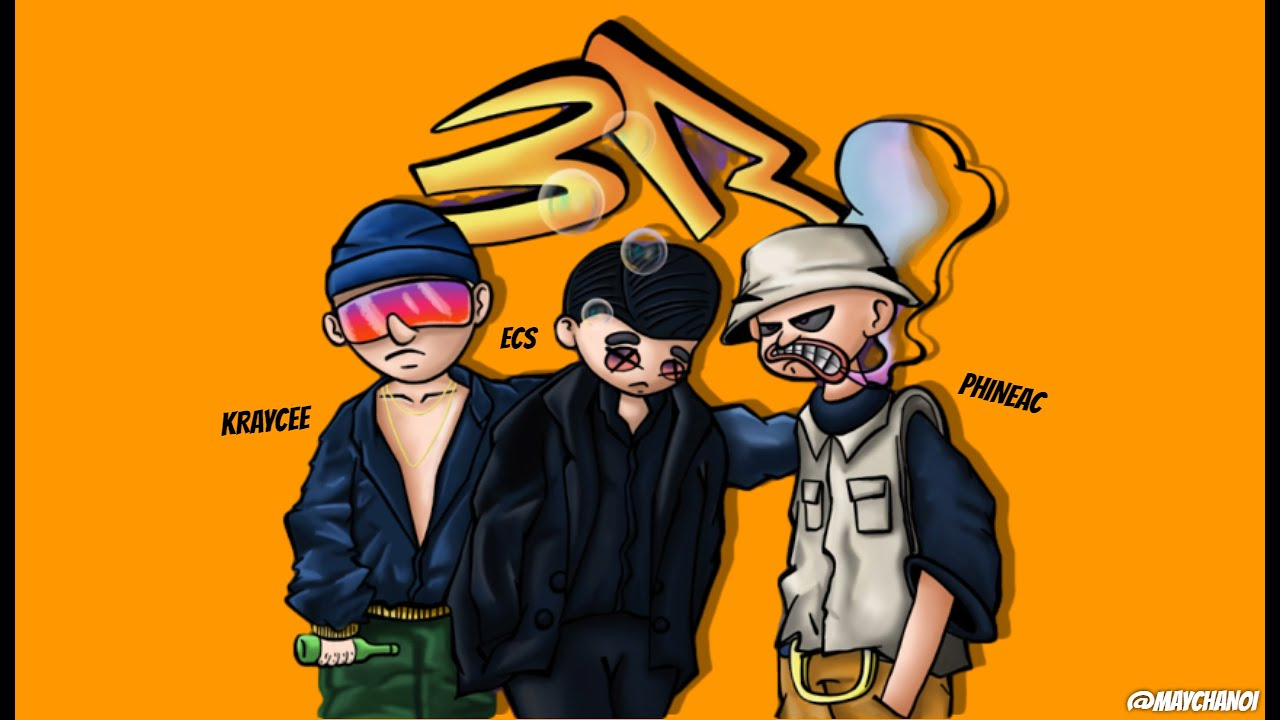 Download 3R - Kraycee x Ecs x Phineac (Prod.by THAIBEATS)  Official Lyrics 