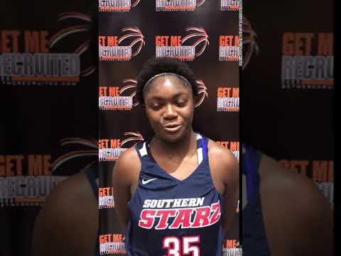 Halia Morris (Alabama Southern Starz 2021 Looney/Madison Academy/Huntsville, AL) 2021 5'10 PF -