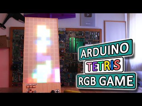 Arduino TETRIS Game With RGB LEDs