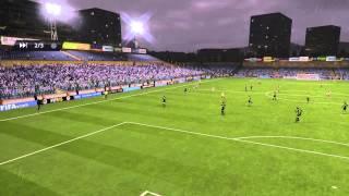 David Beckham Goal on Fifa15