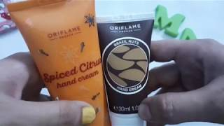 Oriflame - Spiced Citrus Hand Cream - Brazil Nuts