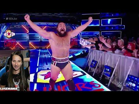WWE Smackdown 9/19/17 Randy Orton vs Rusev