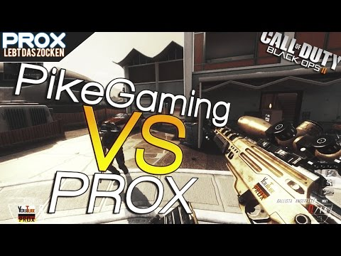 Call Of Duty Black Ops 2 |Sniper-Fehde| »PikeGaming Vs Prox« | GER / HD