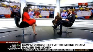 TECH BASE | Justice for Miners Campaign with Matthew Mensah and Catherine Meyburgh