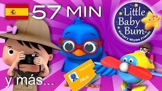 Canciones divertidas para niños | ¡57 minutos de canciones infantiles de LittleBabyBum!