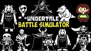 Скачать Undertale Battle Simulator Симулятор персонажей