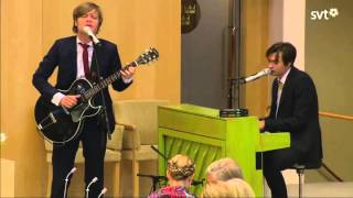 Mando Diao I Ungdomen Riksmötets öppnande 17.09.2013 Opening of the Swedish Parliament