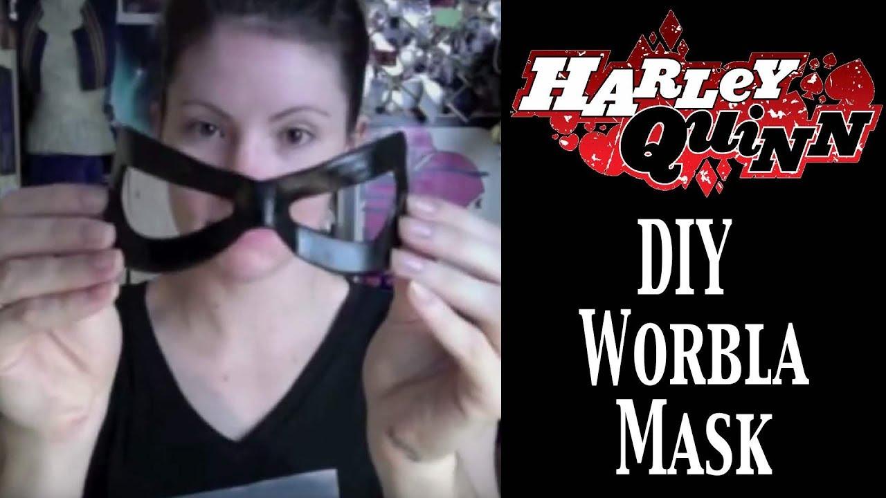 Harley Quinn Worbla Mask Tutorial Youtube