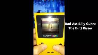 WWF Attitude - All Finishers GAME BOY - WWE