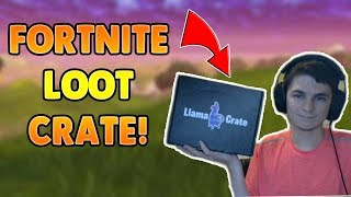 Real Life Fortnite Supply Drop Unboxing / Llama Crate