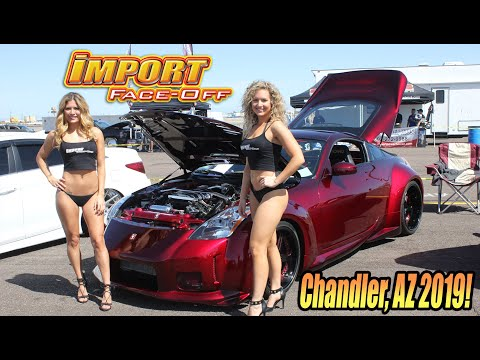 This is IMPORT FACE-OFF! Promo vid Chandler, AZ. Save the date, Phoenix & surrounding areas!