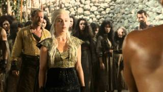 Game of Thrones Episode 8 - Khal Drogo scene