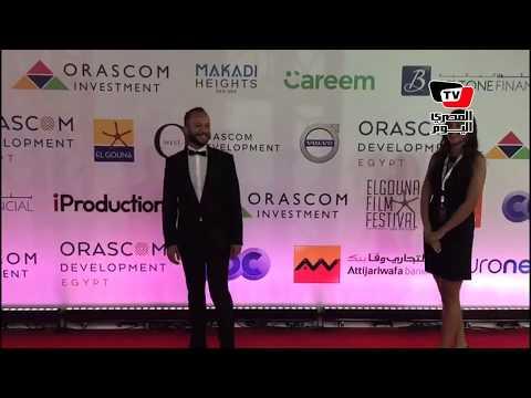 مكسيم خليل وغادة عادل في مهرجان الجونه السينماي?ي