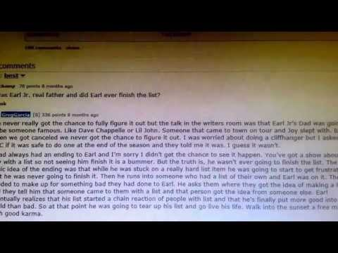My Name Is Earl Leaked Secret Ending From Greg Garcia The Shows Creator!!!