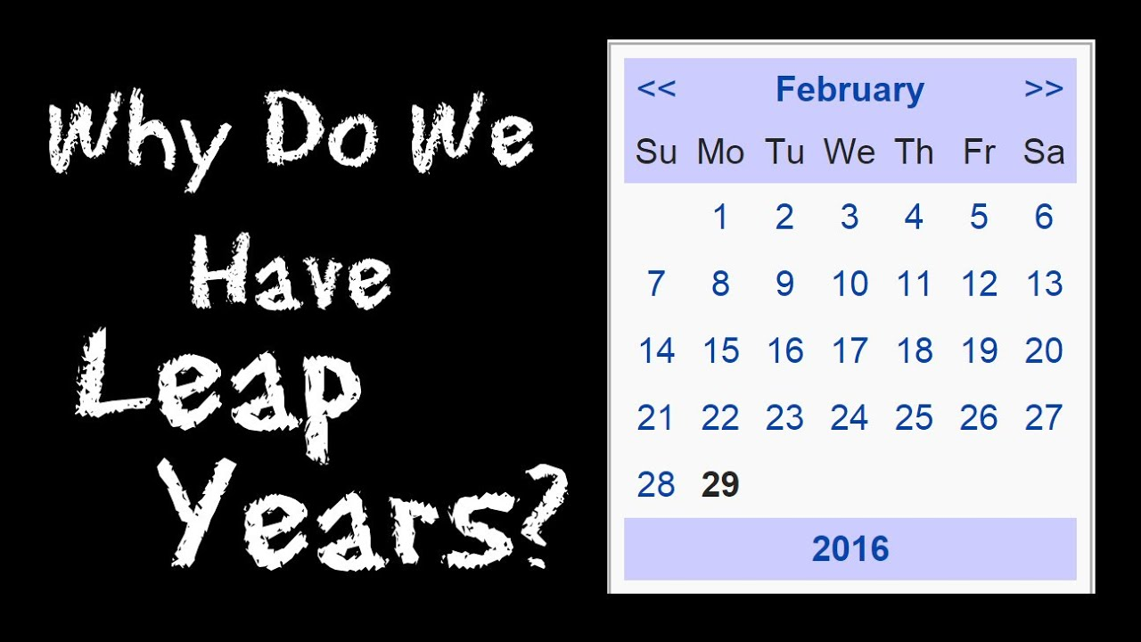 Why Do We Have Leap Years? The History of Leap Day - FreeSchool