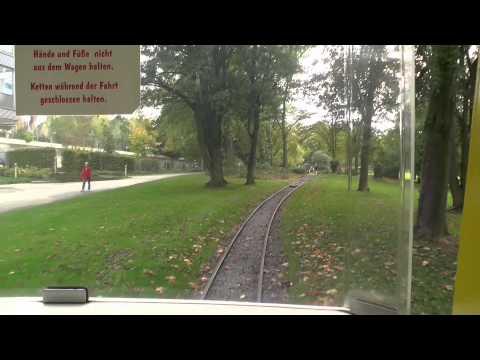 Narrow gauge railway ride at Gruga Park Railway (2 feet)
