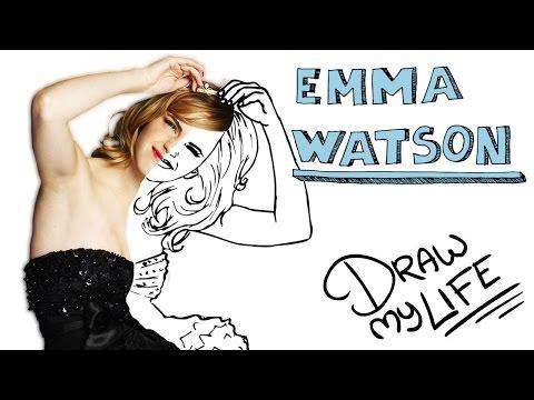 EMMA WATSON | Draw My Life En Español