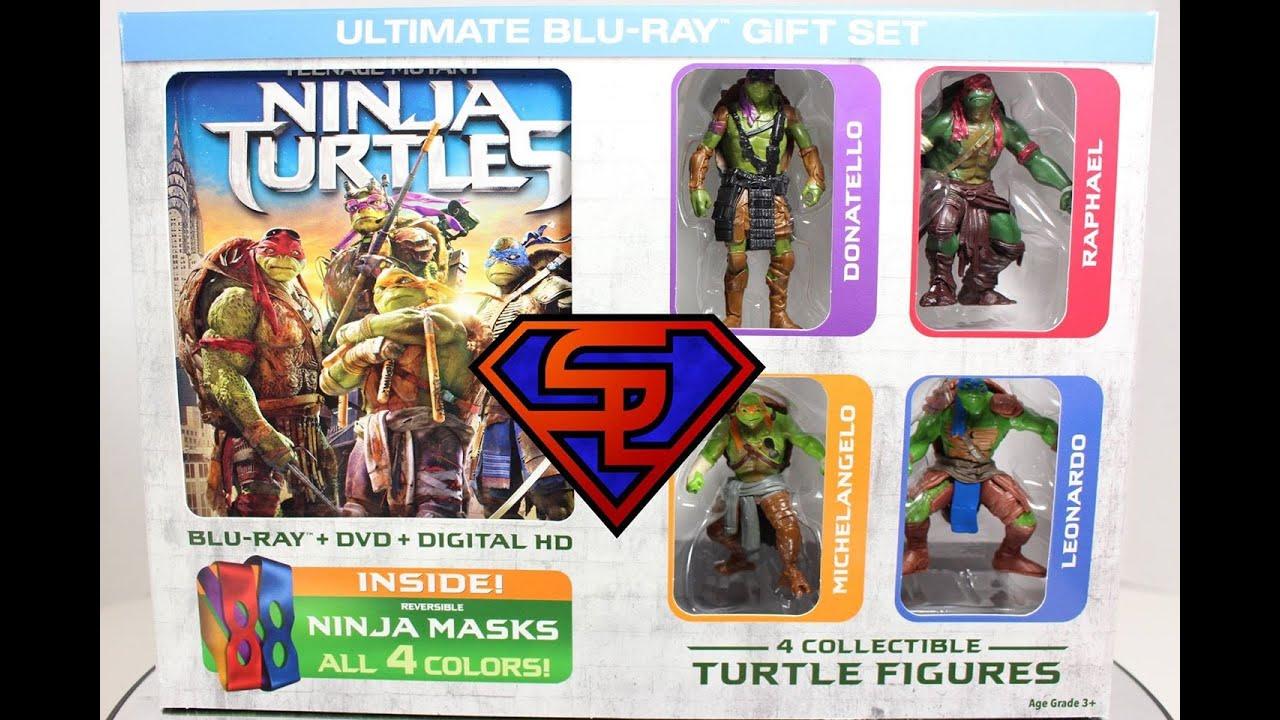 Teenage Mutant Ninja Turtles 2014 Movie Ultimate Blu-Ray Gift Set ...