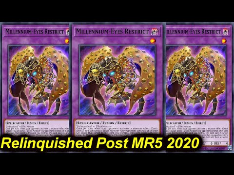RELINQUISHED POST MASTER RULE 5