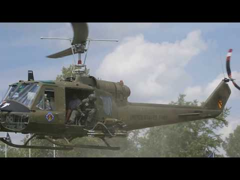 049 Huey Gunship At 2017 Fort Fest Fort Jennings Ohio