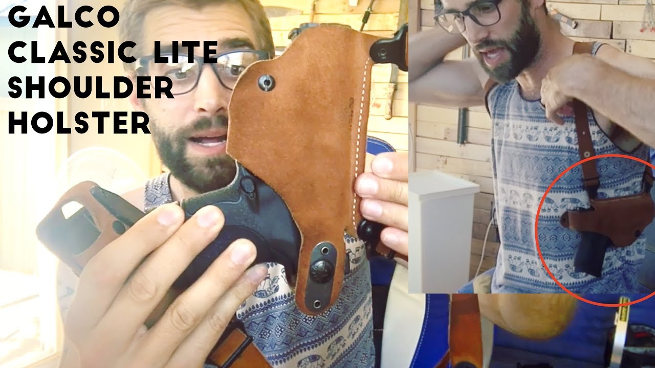 ★★★★★ Galco Classic Lite Shoulder Holster System Review - Mp9C, H&K USP  Compact 45 - Amazon