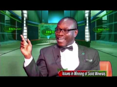 Issues in the mining of solid minerals in Nigeria - NTA interviews Prof. Adesoji Adesugba