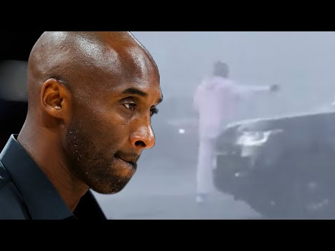 Kobe Bryant Helps Directs Traffic After A MAJOR Car Accident
