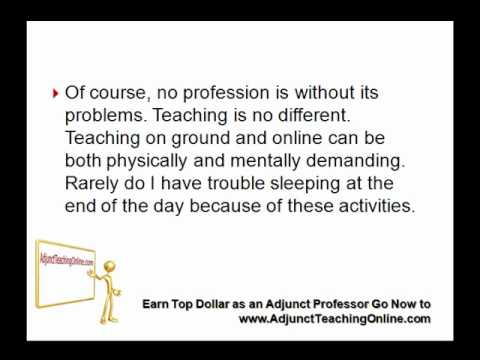 Benefits and Drawbacks of Being a College Professor - YouTube