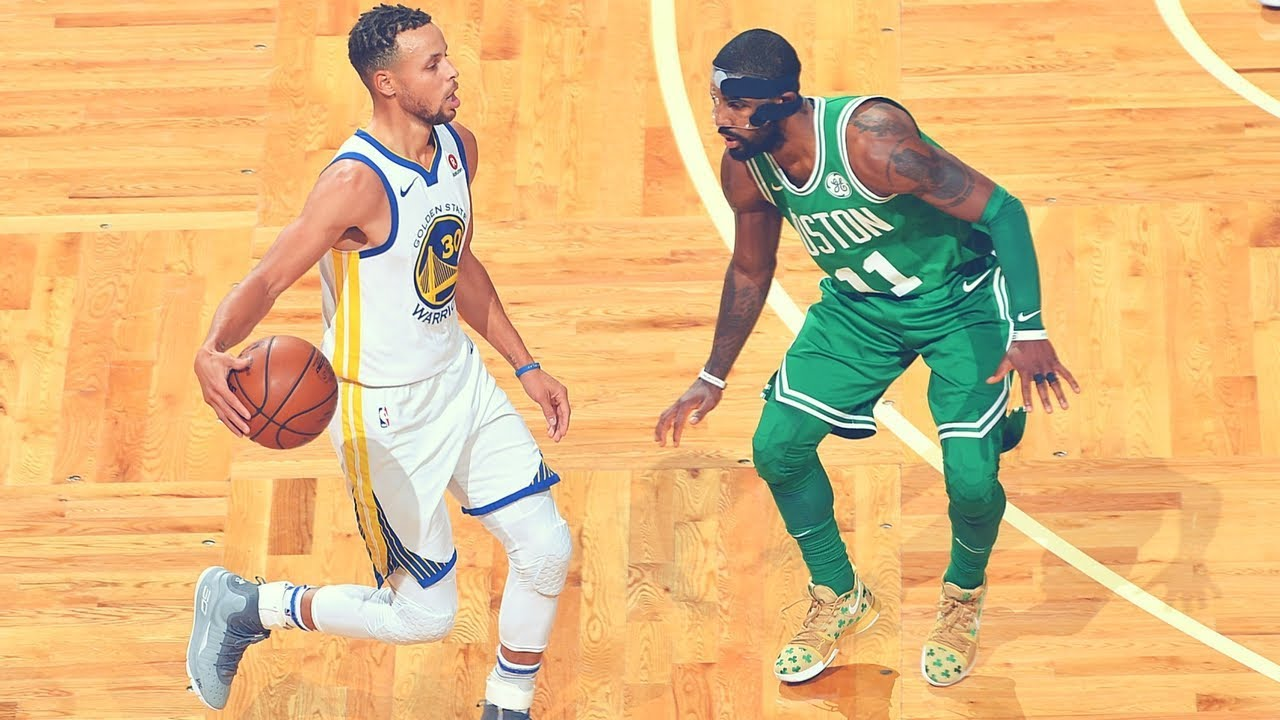 fc8498a2a67 Stephen Curry vs Kyrie Irving  Who Has the Better Handle  - YouTube