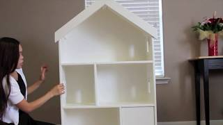 Dollhouse Bookcase Blueprints Woodworking Projects Plans