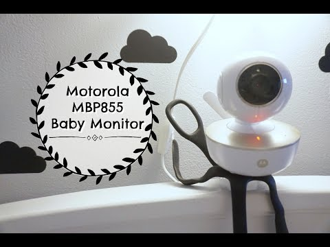 Motortola MBP855 Baby Monitor Review!