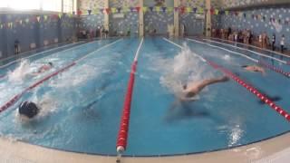 Спартакиада ОГК-2. Мужчины после 35. 1 заплыв