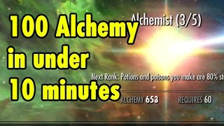 100 Alchemy in under 10 Minutes