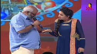 M. M. Keeravani Saying Palm Reading to Suma at Size Zero Audio Launch