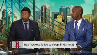 Paul Pierce & Jalen Rose not buying Rockets were 'lulled to sleep' in Game 2 | NBA Countdown | ESPN