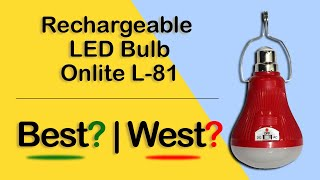 Rechargeable Lamp Onlite L81