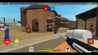 ROBLOX EP 8-gun on the fight