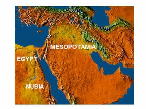 Patterns of Ancient Civilizations - Mesopotamia, Egypt